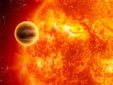 Exoplanet artist
