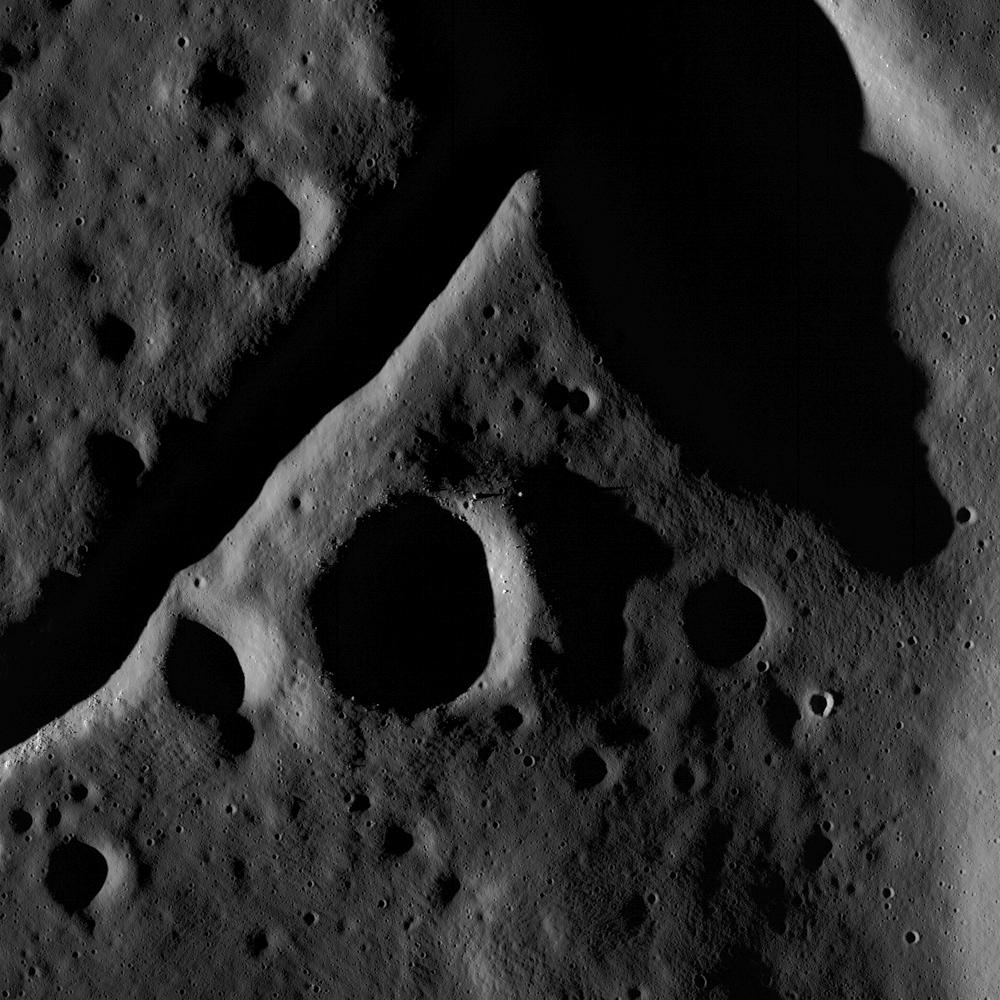 Crater floor - LRO